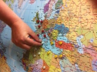 Cartes France Europe Et Monde Murales