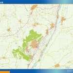 carte manosque
