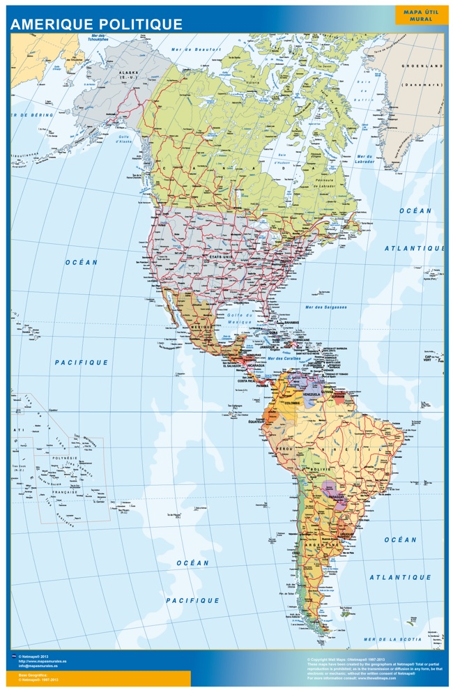 Carte Amerique ou le plan Carte Amerique