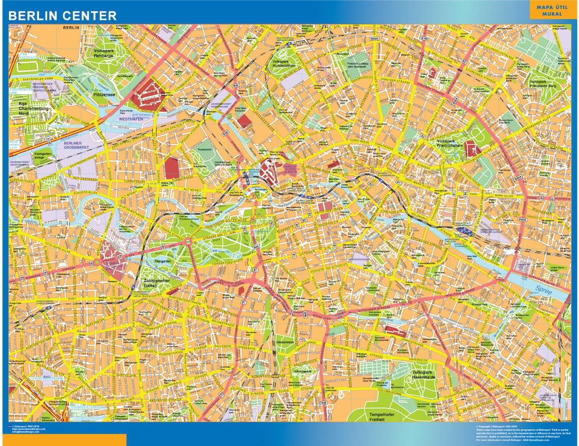vous cherchez carte berlin centre ville ou le plan carte berlin centre ville. Black Bedroom Furniture Sets. Home Design Ideas