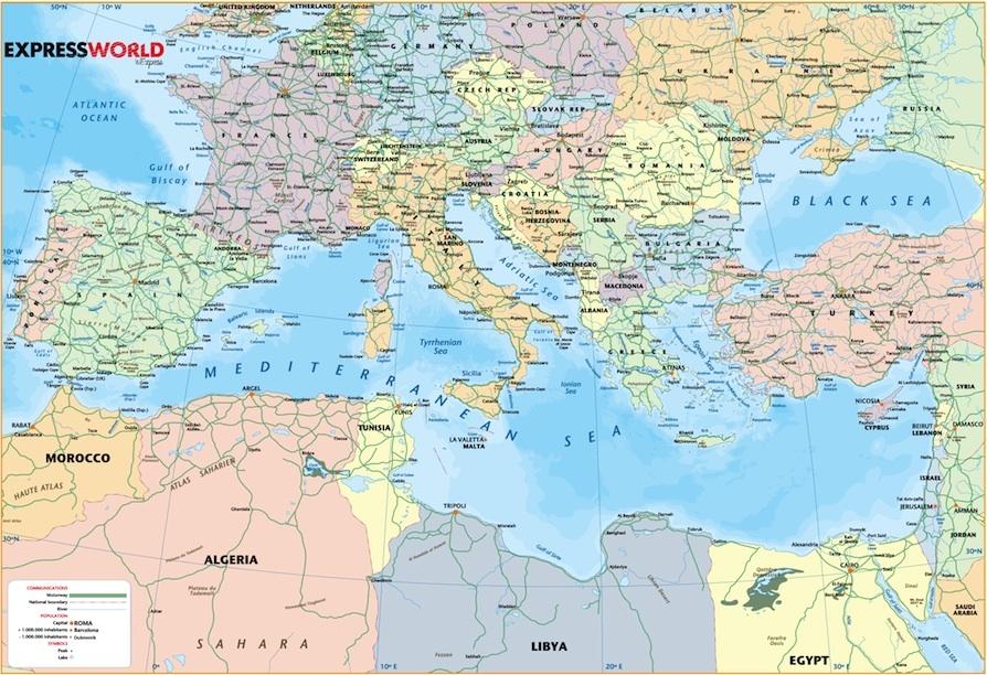 Mediterranean Africa english