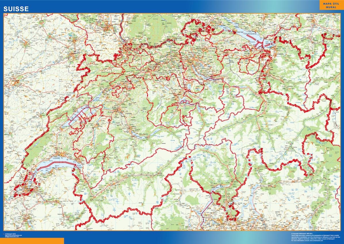 Carte Suisse